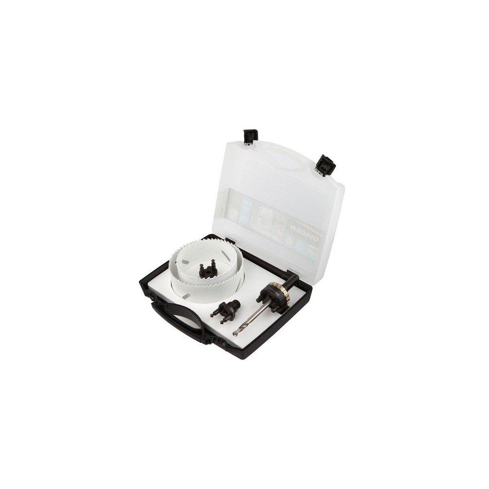 102 mm 83 Mallette 5 pcs scie cloche PRO Quick Lock D Diager 651E Diager