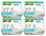EVO Mountain Bike Tube - 27.5'' x 2.0/2.4-32mm Threaded Presta Valve 650b - FOUR (4) PACK w/Franklin Decal