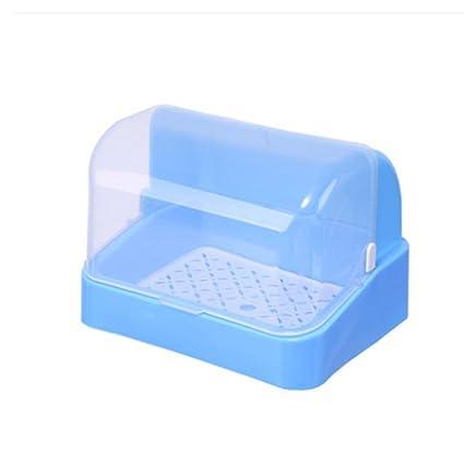 BBYE Botellas para bebés Caja de almacenamiento Estante de secado Caja de almacenamiento a prueba de