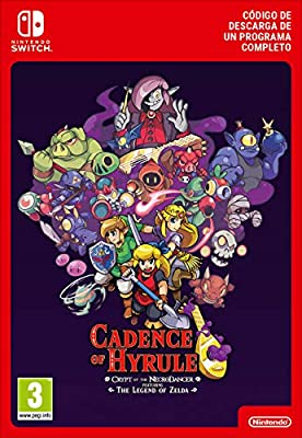 Cadence of Hyrule - Crypt of the NecroDancer Featuring The Legend of Zelda | Nintendo Switch - Código de descarga: Amazon.es: Videojuegos