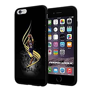 Basketball NBA KOBE Bryant Los Angeles Lakers LA,Cool iphone 6 4.7 Smartphone Case Cover Collector iphone TPU Rubber Case Black
