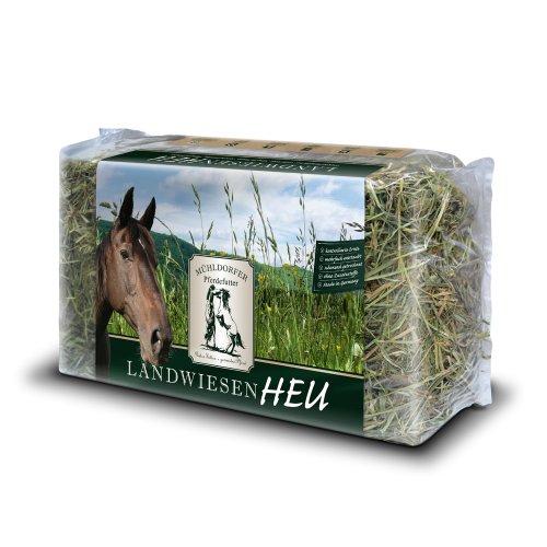 Mühldorfer Landwiesen-Heu, 15 kg (Einzelfuttermittel für Pferde)