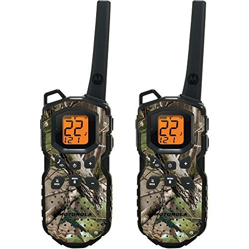 Motorola WATERPROOF 35-Mile FRS/GMRS Two Way Radios  with NO