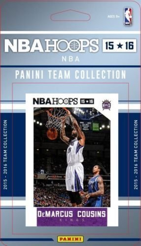 2015-16-panini-nba-hoops-sacramento-kings-team-set-of-10-cards-rajon-rondo-darren-collison-demarcus-