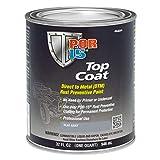 POR-15 46604 Top Coat Flat Gray Paint 32. Fluid_Ounces