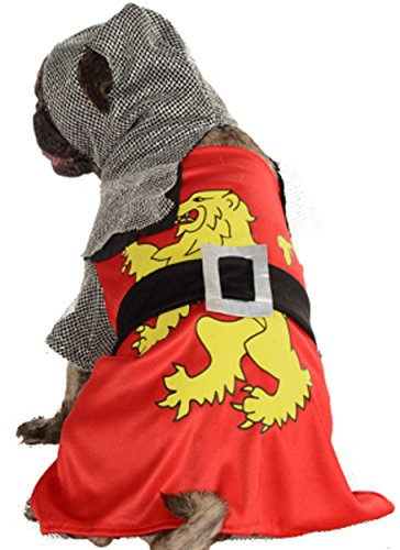 [Rubie's Pet Costume, Small, Knight Sir Barks-A-Lot] (Knight Family Costume)