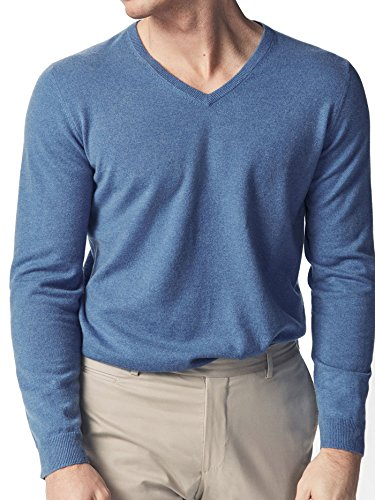 Massimo Dutti Homme 100% cashmere v-neck sweater 0916/210