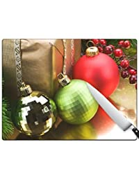 Investment A Very Merry Christmas v157 Large Cutting Board discount