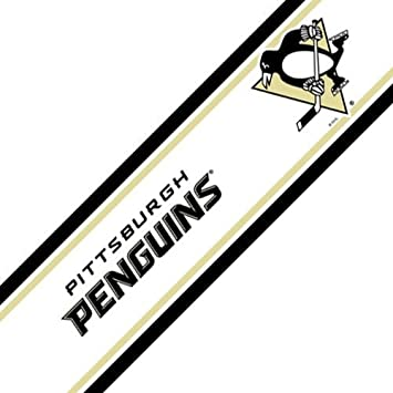 Amazon.com: NHL Pittsburgh Penguins Self-Stick Hockey Wall Border ...