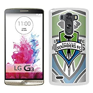 Seattle Sounders FC 07 White New Customized Design LG G3 Case
