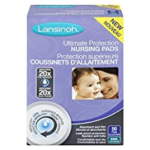 Lansinoh Ultimate Protection Disposable Nursing Pads, 50 Count