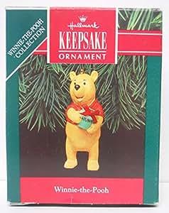 "Hallmark 1991 Winnie-The-Pooh Collection: ""Winnie-the-Pooh"" Ornament"" (QX556-9)"