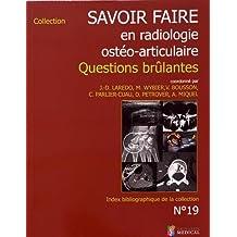 Savoir-faire En Radiologie Ostéo-articulaire No.19-2017
