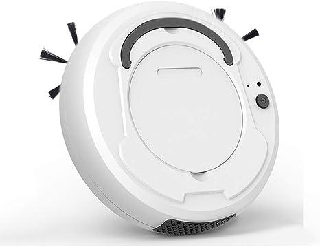 IOIOA Aspirador Robot, 1200mAh Capacidad de la batería 100 Minutos de Larga duración, Protección Inteligente contra caídas Múltiples Modos de Limpieza para Piso Duro y Alfombra de Pila,B: Amazon.es: Deportes y aire