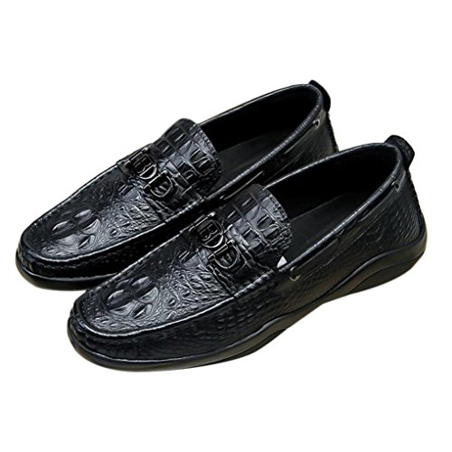 Bally Leather Loafers - BALLY Men's Leather Perrcles Driver Loafer
