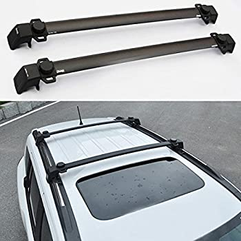 Amazon Com Dwindish 2 Pcs Roof Rails Cross Bar Luggage