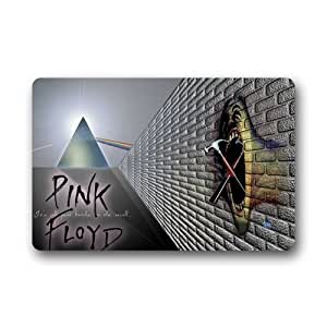CoolYoYo The Wall Pink Floyd Pattern Custom Doormat Non-woven Fabric Multifuntional Doormat Machine Washable Indoor or Outdoor Use Size 23.6''*15.7''