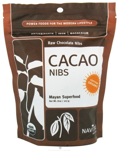 raw Organic Cacao Nibs Sweetened by Navitas Naturals