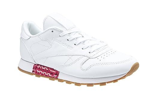 Reebok Classic Leather Bd3156, Zapatillas para Mujer: Amazon.es: Zapatos y complementos