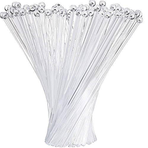 Drink Swizzle Sticks (Quality Caterpack Pack of 100 Clear Swizzle Sticks Drink Stir Plastic Stick Cocktail Stirrers Ideal for Bar and Hotel Lot)