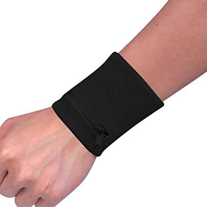 Running Unisex Wrist Wallet Pouch Safe Running Strap Wrap Cycling Sports Wrist Band Bag Breathable Waist Running Bag Fitness Equipment