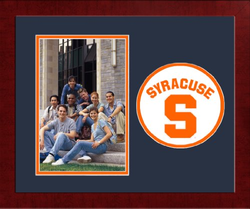 Syracuse Orange Photo - Campus Images NCAA Syracuse Orange University Spirit Photo Frame (Vertical)