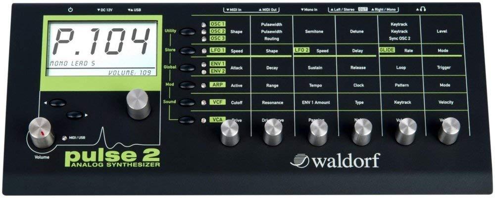 Pulse 2 Analog Synthesizer by Waldorf
