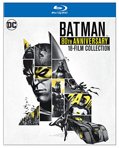 Batman 80th Anniversary Collection (Blu-ray)