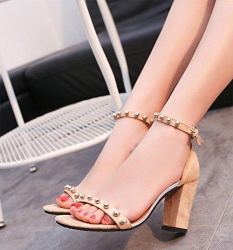 ffnen Zehen hochhackigen Sandalen Frauen Art und Weise der reizvollen Frauen Sandalen Schuhe Arbeitsplatz meters white