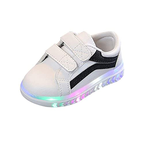 Zapatos Recien Nacido Niña, ❤ Zolimx Infantil Bebé Niña Niño Zapatos de Cuna de Suela Blanda LED Luz Luminosa Deportivo Zapatillas Deportivas: Amazon.es: ...