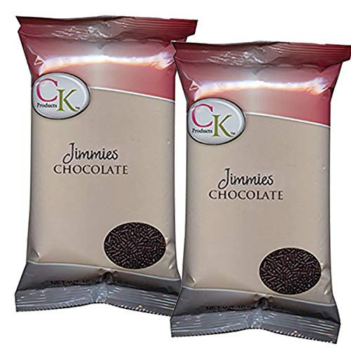 Price comparison product image CK PRODUCTS 1 LB JIMMIES CHOCOLATE (2PK) - DECORATING SPRINKLES