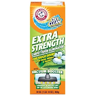 Arm & Hammer Extra Strength Odor Eliminator for Carpet and Room, 30 Ounce