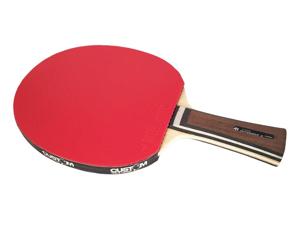 XIOM Classic Offensive S + XIOM Vega Table Tennis Bat