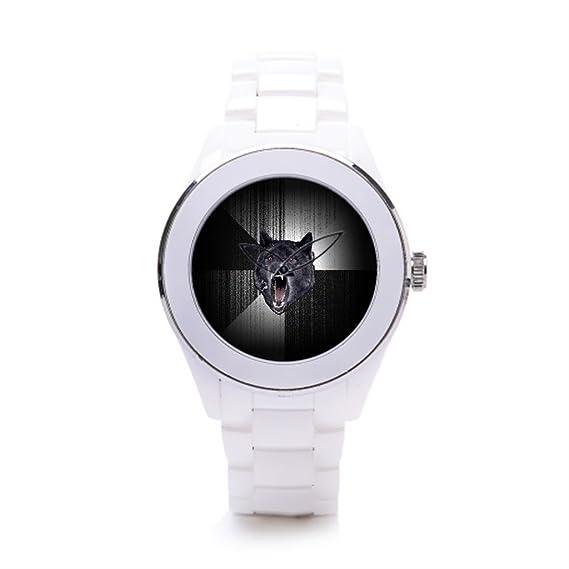 queenslandmen sstylish relojes locura cerámica Mens relojes Face Memes