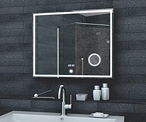 Fineline Badezimmer Spiegel LED Beleuchtung 192 LED und 50 LED für ...