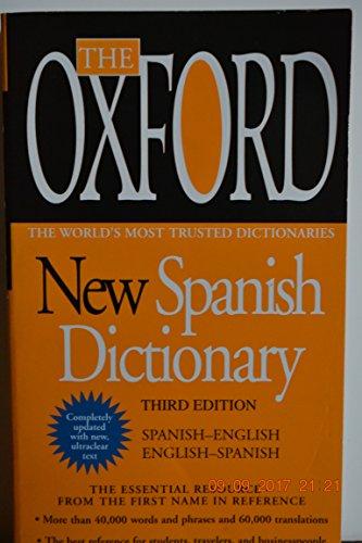 OXFORD NEW SPANISH DICTIONARY