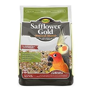 Higgins Safflower Gold Natural Food Mix for Conures & Cockatiels 9