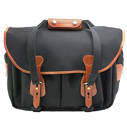Image of Bag & Case Accessories Billingham 225 Canvas Bag for Camera - Black/Tan