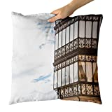 Westlake Art - Old Spain - Decorative Throw Pillow Cushion - Picture Photography Artwork Home Decor Living Room - 18x18 Inch (9917B)