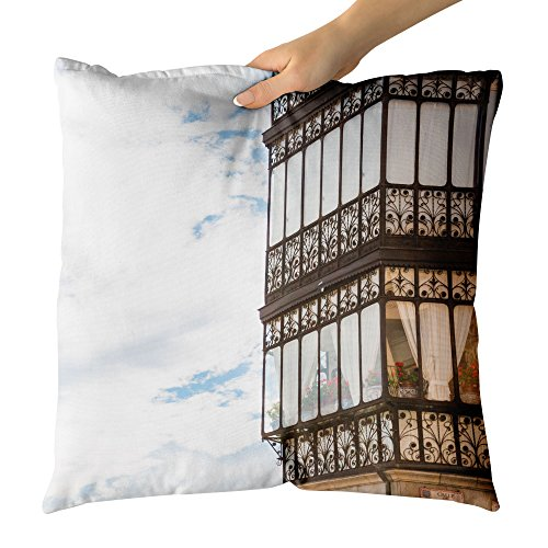 Westlake Art - Old Spain - Decorative Throw Pillow Cushion - Picture Photography Artwork Home Decor Living Room - 18x18 Inch (9917B) by Westlake Art