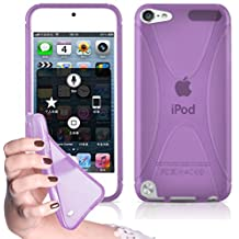 Cadorabo – Silicone Case X-LINE SLIM-FLEX for Apple iPod Touch 5 – Etui Cover Protection Bumper Skin in PASTEL-PURPLE