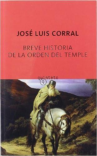 Breve historia de la orden del temple Quinteto Bolsillo: Amazon.es ...