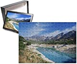 Photo Jigsaw Puzzle of View along reservoir below the village of Guadalest