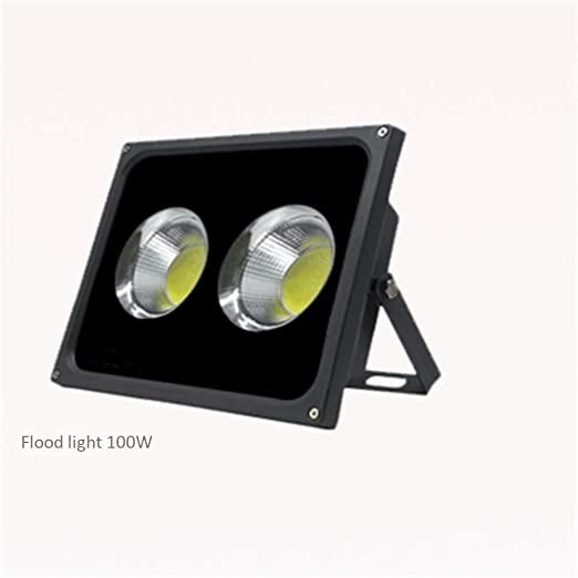 Shedeng Proyector LED 100w Al Aire Libre Proyector A Prueba De ...