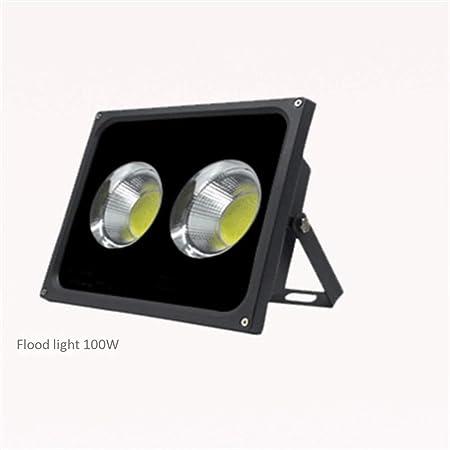 Shedeng Proyector LED 100w Al Aire Libre Proyector A Prueba ...