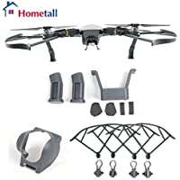 Mavic Accessories Kit, Hometall Lens Hood Gimbal Protective Cover, Landing Gear, Propeller Guard for DJI Mavic Pro Grey Color