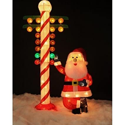 nhra inflatable santa claus with christmas tree