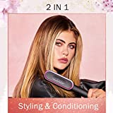 Tymo hair straightener brush - Tymo ring curly hair