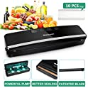 Slaouwo Vacuum Sealer Automatic Food Sealer Machine