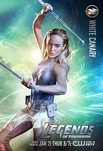 Canary Mailers - DC's Legends of Tomorrow (2012) - White Canary - 13 in x 19 in Movie Poster Flyer Borderless + Free 1 Tile Magnet